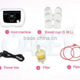 Sunmas Electrode hot breast sucking and massage breast enlargement breast massager machine