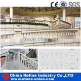 balustrade and stone columns, stone handrail stairs, stone pillar fence