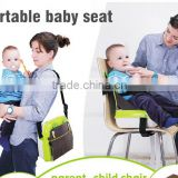 Portable foldable baby sitting chair for restaurant mommy bag                                                                         Quality Choice