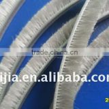 aluminum door/window seal brush strip/ auto weather strip/sliding door/window weather stripping/weather fin strips