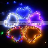Fullbell Micro 20 LEDs Super Bright Warm White Color Wire Rope Lights Battery Operated fairy string lights
