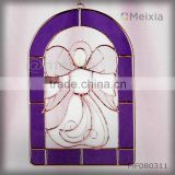 INQUIRY ABOUT MF080309 china wholesale tiffany style stained glass angel wall hanging for christmas decoration