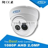 hottest 1080p hd dome camera cctv ahd 2 megapixel 30m ir distance outdoor