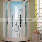 Bath Cabin Bathroom Tempered Glass Door Economic Shower Steam Shower Room with foot massage G253