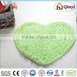 NEW Homestyle Lovely wholesale chenille bedroom floor mats / Chenille mat-QINYI