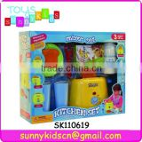 kitchen set toys mixer set toys with music and light
