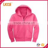 High Quality Bulk Custom Cotton Hoodie For Children With Zipper Blank Print Hoody Sweatshirts