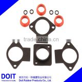 custom ( medical, bathroom, micro-pump) auto rubber gaskets high temperature oven gasket
