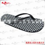 Fancy ladies sublimation print EVA flip flop
