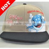 customed 3D embroidery wool snapback cap / hat and full black snapback/baseball/sport cap/hat