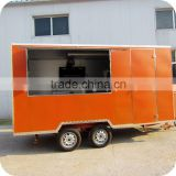 2013 Top Selling Stainless Steel Automatic Orange Juice Coffee Food Cart with Towel Bar XR-FV400 A