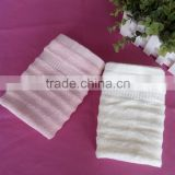 China supplier manufacturer small size yarn dyed soft baby face towel bamboo fiber dobby towel