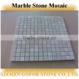 Yellow mosaic tile, natural stone mosaic, mosaic stone picture