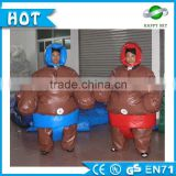 0.45mm pvc tarpaulin inflatable sumo wrestling suits,costume de sumo,child's sumo wrestler costume