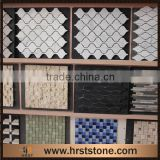 Mix color pattern marble mosaic tile picture                                                                                                         Supplier's Choice