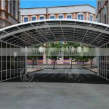 no need welding and More strong than canvas canopy aluminum carports polycarbonate frame for car awning