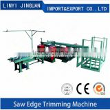 Double Edge Trimming Saw Automatic Plywood Edge Trimming Saw Double Blade Wood Saw Machine