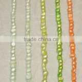 Factory direct wholesale nature freshwater loose pearls with holes