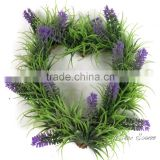 Real look artificial evergreen boxwood wreath for party decorations artificial Christmas wreaths wholesale