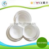 TC-SYW01 White Ceramic Three Divided Plate for Banquet                                                                         Quality Choice