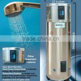 Monobloc heat pump