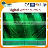 graphic water curtain/digital water curtain/waterfall