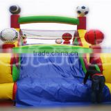 High quality giant inflatable adult sport inflatable obstacle course for sale, inflatable rush obstacle course