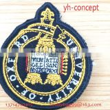 factory direct high quality embroidery badge baby embroidered patches custom embroidered patches