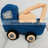 Crochet vehicle tools&truck for baby ,crochet baby toys