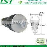 LED Bulb With PIR Motion Sensor, Equivalently to 60W incandescent lamp, Long Life Span 40,000 Hrs, LED Montion Sensor Bulb