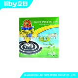 Super Effective Smokeless Liby Superb Mosquito Coils, for Camping, Picnics, BBQ, Deck,