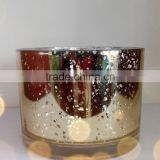 natural aroma soy wax glass candle