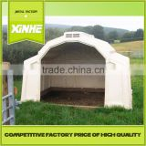 Low price and fine supplier House and open-air cage for calfs / Greenhouse Poultry Equipment Calf Hutch