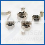 flat springs,spring for battery connector, constant force spring,for motor brush