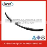 Carbon 3-Series V Style Rear Trunk Spoiler for BMW F80 M3 328i 335i 320i