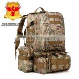 50L Camo Trekking Bag Military Camping mountain top backpack