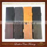 Business compatible brand phone case with belt and in hand leather waist pouch for iphone 5 6 6 plus