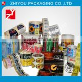Accept custom order made in china OEM plastic pvc film rolls for beverage bottles with your own logo