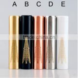 2015 Alibaba express 18650 Mech mod Rig mod fit orchid v3 rda SS/Brass/Copper full mechanical mod Rig mod