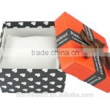 Hot in the market watch gift box active spot printing cover butterfly top promotional case