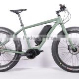 26 Wheel Size and No Foldable electric fat bike with bafang second central motor ( HJ-M21 )