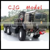 rc car billet Machined 6X6 High-Mobility Off-Road Truck 1/10 Size racing car model toys car.