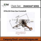 crank shaft for MS250 gasoline chain saw, MS250 crank shaft , spare parts for MS250 chainsaw