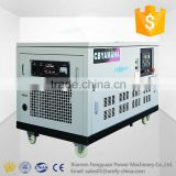 High quality light weight small size soundproof 30kw jenerator gasoline 37.5kva silent type genset