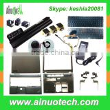 We sell Laptop Parts such as ac adapter/battery/body shell/keyboards/LCD hinge/CPU fan/DC jacks