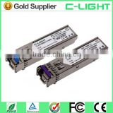 Single Mode Fiber TX1310nm RX1490nm SFP BIDI Optical Transceiver Module Compatible CISCO