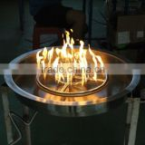 Outdoor gas firepit pan Propane natrual gas conversion kit