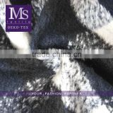 China supplier viscose Wool fleece fabric, lambs wool polyester fabric for garment