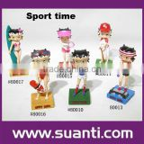 Inquiry about Wholesale polyresin sexy girl statue Betty boop figurine statue