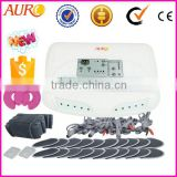 INQUIRY ABOUT muscle relax faradic slimming machine with 10 pairs pads and one breast pads Electro Muscle Stimulation EMS Russian wave